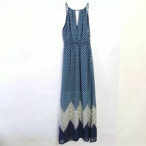 Maurices Maxi dress Boho Side Slits Small